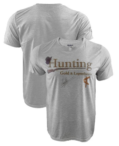 Cowboy Cerrone Hunting Gold & Leprechauns Shirt