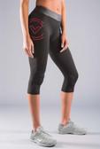 Virus Women's Stay Warm Compression Crop Pant (ESiO7)