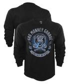 Gas Monkey Garage Logo Blood, Sweat, Beers XReset Long Sleeve Shirt