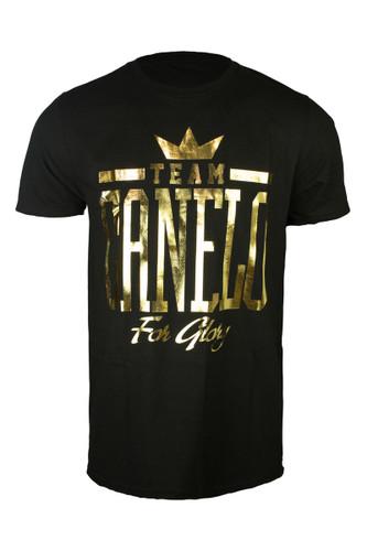 Canelo Alvarez Team Gold Foil T-shirt