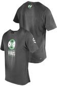 Virus Men's PREPARED Premium T-shirt Black/Green