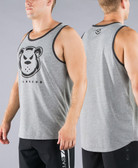 Virus Killer Cub Swanson Signature Tank Top Shirt (Gray/Black)