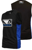 Badboy Sleeveless Jersey Black/Blue