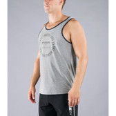 Virus History Premium Tank Top (PC8) Grey