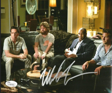 """Mike Tyson Signed """"Hangover"""" The Movie 16x20 Photo- JSA Authenticated"""