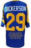 Eric Dickerson Autographed Jersey JSA Authenticated