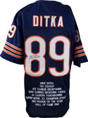 Mike Ditka Autographed Jersey JSA Authenticated