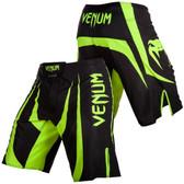 Venum Predator X Fight Shorts Black/Neon Yellow