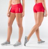 Virus Women's DATA Training Shorts RED (ECO22)