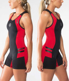 Virus Women's Bio Ceramic Elevate V2 Singlet (EAu12) Red