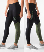 Virus Women's Stay Cool Eco21 Compression Pants OLIVE GREEN