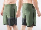 Virus Mens Velocity Shorts (ST5) Olive Green