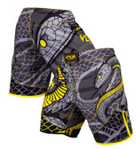 Venum Snaker Grey/Yellow Fight Shorts