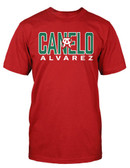 Canelo Alvarez Straight Red Shirt