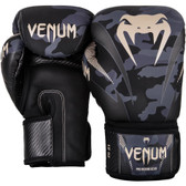 Venum Impact 16oz Boxing Gloves Dark Camo