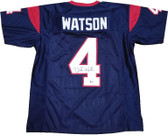Deshaun Watson Autographed Jersey BECKETT COA