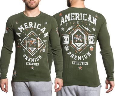 American Fighter Arlington Pattern L/S Thermal