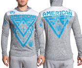 American Fighter Alaska L/S Football Hoodie