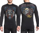 Affliction AC Wild Jackal Long Sleeve Shirt
