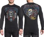 Affliction AC Wild Jackal Long Sleeve Shirt