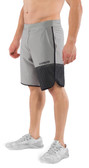 Virus Men's Velocity Shorts ST5 Grey/Black
