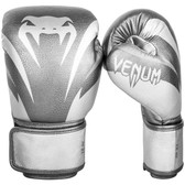Venum Impact Boxing Gloves SILVER