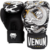Venum Dragon's Flight Boxing Gloves BLACK/WHITE