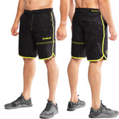 Virus ST5 Men's Velocity Short - Black Camo/Lime Punch