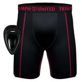 Triumph United Compression Shorts with Protective Cup