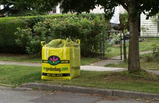 MyGardenBag deiivers soil to New Westminster contest winner