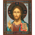 Icon - Christ the Teacher (7 X 8.5)