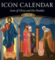 2018 Icon Calendar, Icons of Christ and His Parables