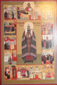 St. Tikhon - Patriarch of Moscow - Enlightener of N. America with Life (Medium)