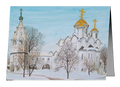 Christmas Cards - Suzdal In Winter