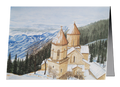 Christmas Cards - Sapara Monastery, Winter in the Mountains