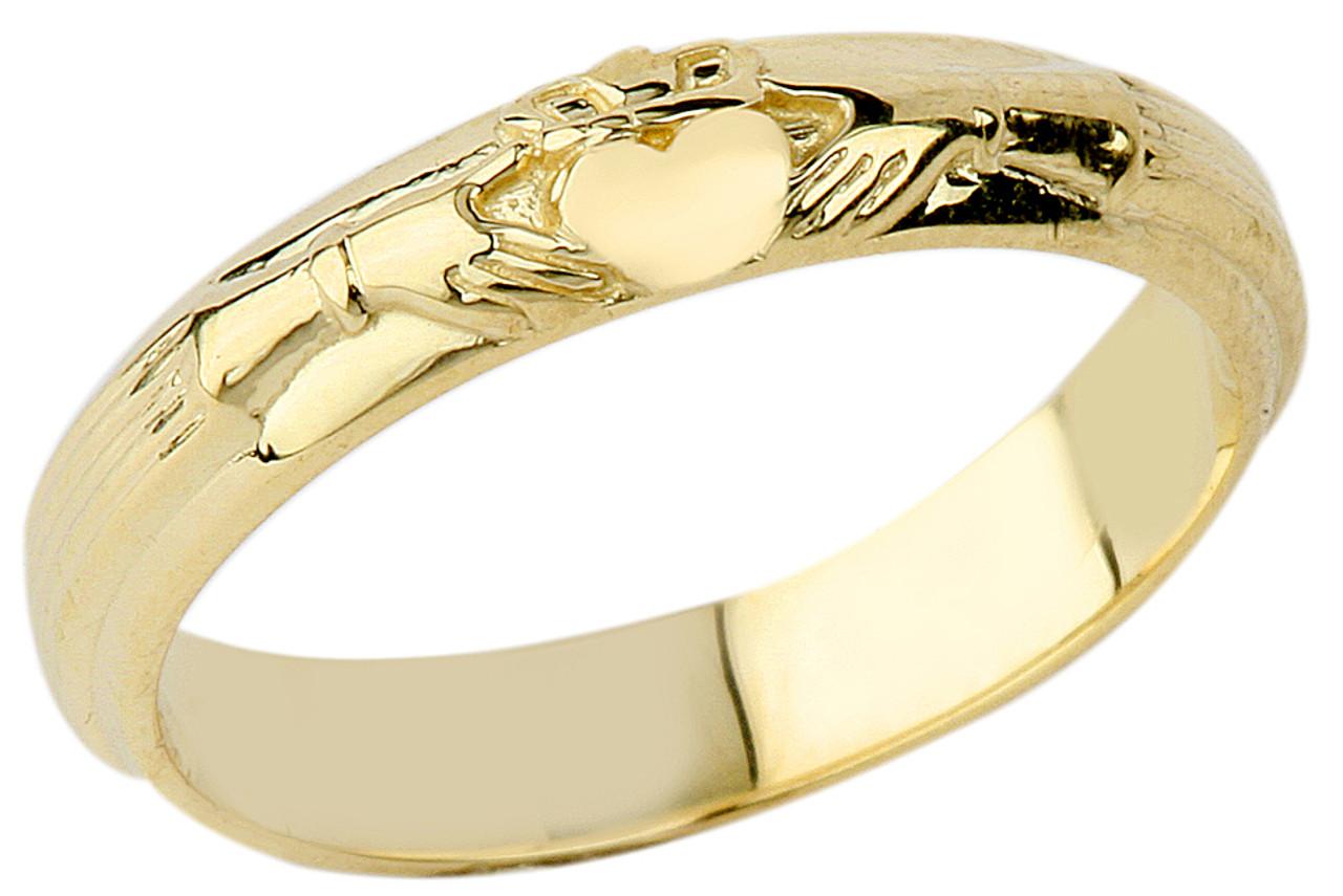 gold wedding claddagh ring. Black Bedroom Furniture Sets. Home Design Ideas