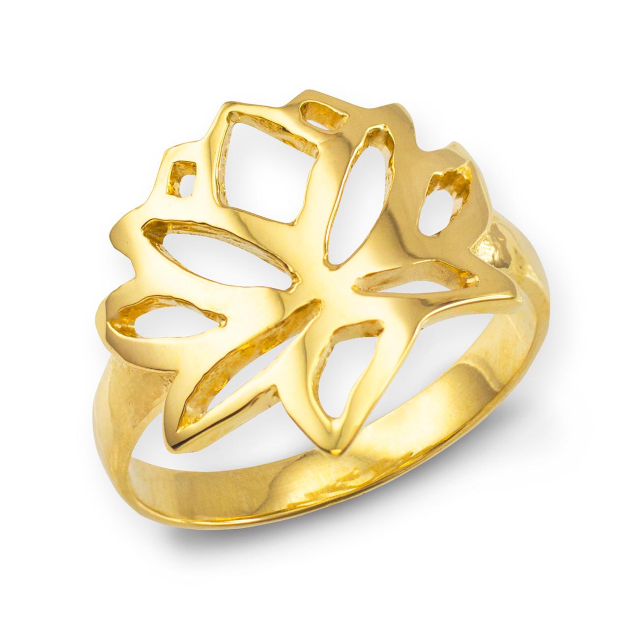 gold lotus flower ring lotus lotus flower buddhism ring. Black Bedroom Furniture Sets. Home Design Ideas