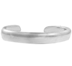 White Gold Classic Toe Ring