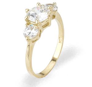 Ladies Cubic Zirconia Ring - The Anjali Diamento
