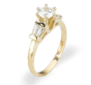 Ladies Cubic Zirconia Ring - The Saige Diamento