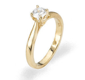 Ladies Cubic Zirconia Ring - The Ivana Diamento