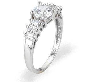 Ladies Cubic Zirconia Ring - The Laurel Diamento
