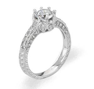 Ladies Cubic Zirconia Ring - The Giana Diamento