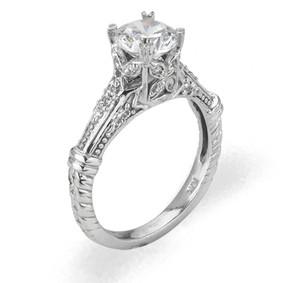 Ladies Cubic Zirconia Ring - The Gemma Diamento