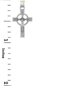 Sterling Silver Crucifix Pendant - The Infinity Crucifix