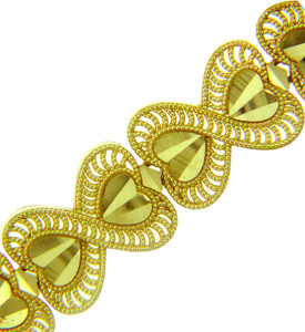 Yellow Gold Bracelet - The Victoria Bracelet