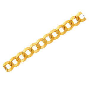 Gold Chains: Cuban Gold Chain 2.65mm