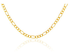 Gold Chains: Figaro Gold Chain 1.64mm