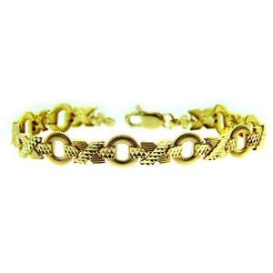 Yellow Gold Bracelet - XOXO Bracelet
