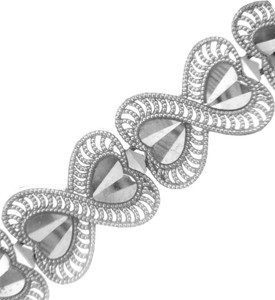 White Gold Bracelet - The Victoria Bracelet